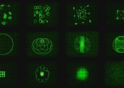 Performance by Oscilloscope Music (Hansi 3D & Jerobeam Fenderson)