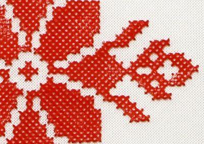 3D Printed Cross Stitch